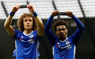 Arsenal signing Willian is delighted to be reunited with David Luiz.