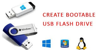 Download Rufus to make bootable USB flash drive