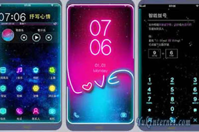 download tema vivo starry love