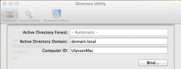 uljk com: Joining a Mac or PC to a Domain