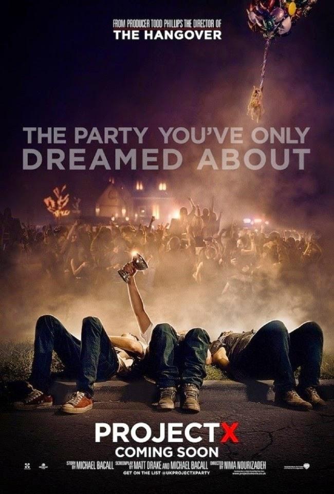 Project X โปรเจ็คท์ เอ็กซ์ คืนซ่าส์ปาร์ตี้หลุดโลก [HD][พากย์ไทย]