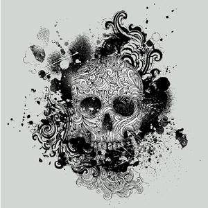 Afbeeldingen van doodskoppen