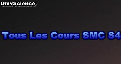 Tous Les Cours  SMC S4