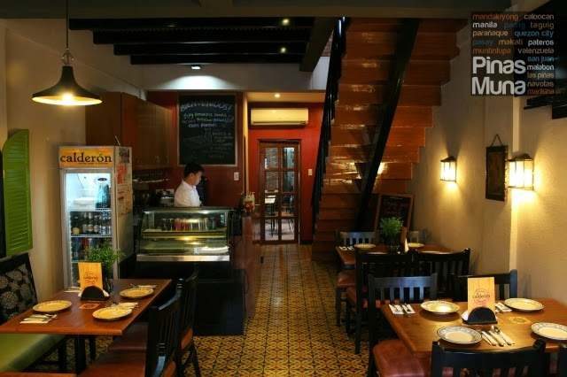 NEW Restaurant in Kapitolyo: Calderon