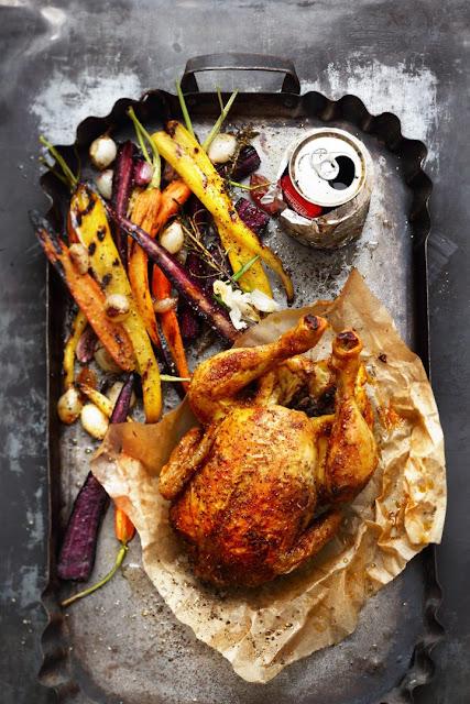 Whisky-Can-Chicken gegrillt von Manuel Weyer.