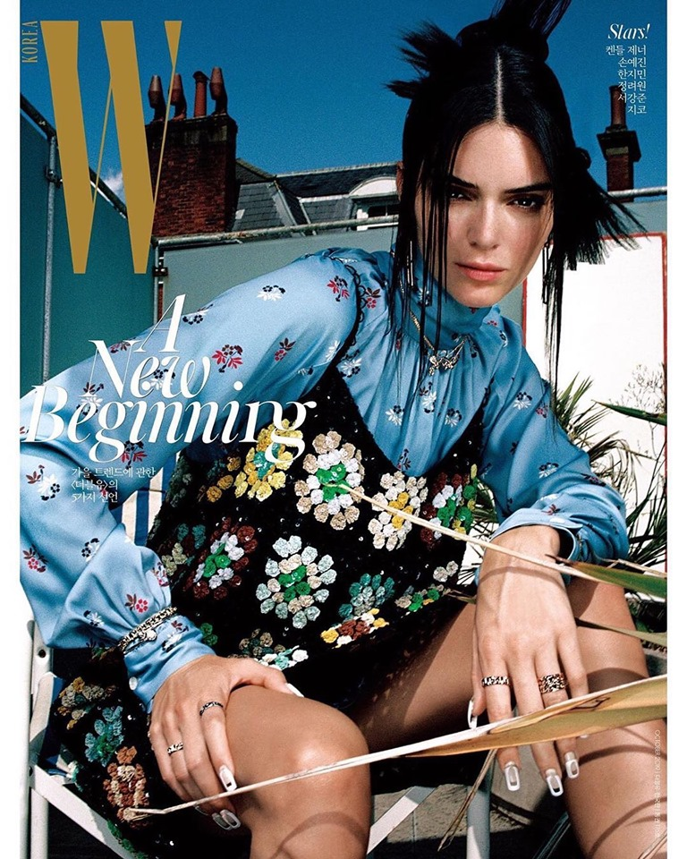 Kendall Jenner for W Korea October 2019