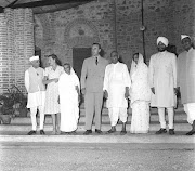 Lord Mountbatten and Rajendra Prasad - 15-08-1947