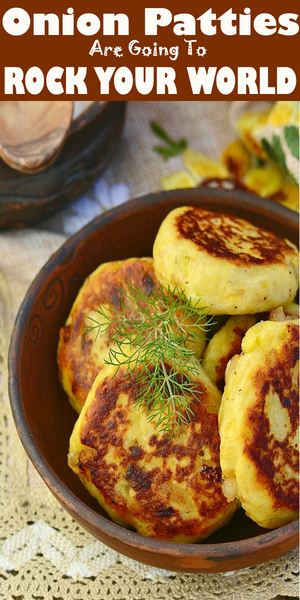 Forget Onion Rings, These Onion Patties Are Going To ROCK YOUR WORLD! #Onion #Patties #dinner #recipe