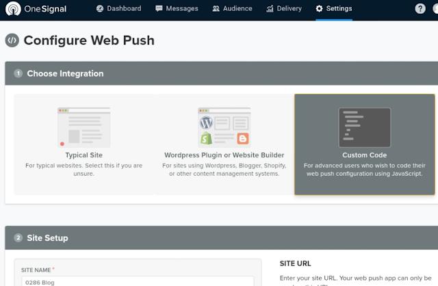Tạo thông báo đẩy trên trình duyệt cho web/blog khi bật https nhìn chuyên nghiệp
