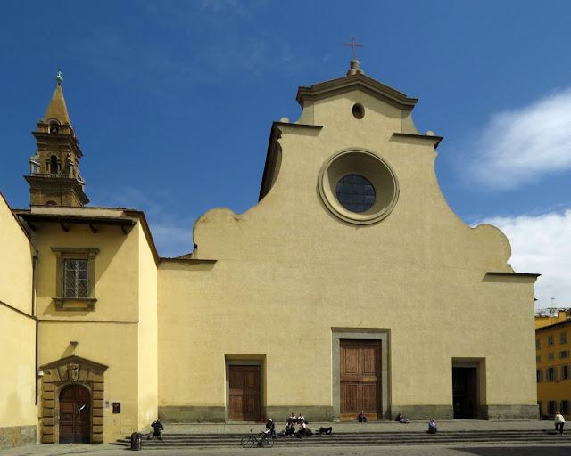 Basilica di Santo Spirito, Basilica of the Holy Spirit, Piazza Santo Spirito, Florence