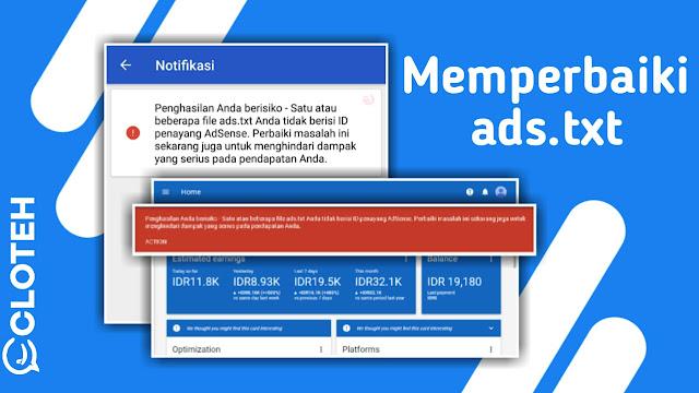 Cara Memasang ads.txt di berbagai situs paling mudah