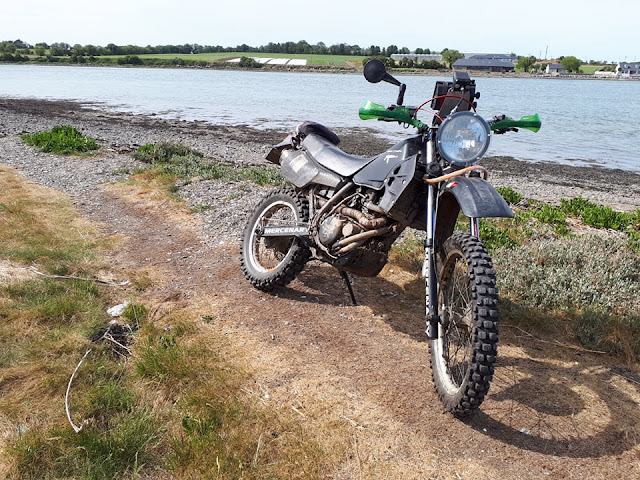 Mercenary Garage Stealth KLR 250
