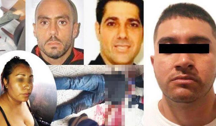 """Elementos de la PDI agarran a """"El Mawicho"""", sicario relacionado al CJNG y ejecutor de los israelíes en Plaza Artz, ingresa al Reclusorío Sur"""
