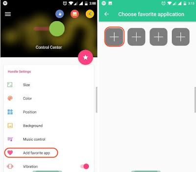 Cara Ubah Tampilan Android seperti iOS Control Center - Control Center 3