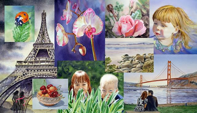 paintings by Irina Sztukowski