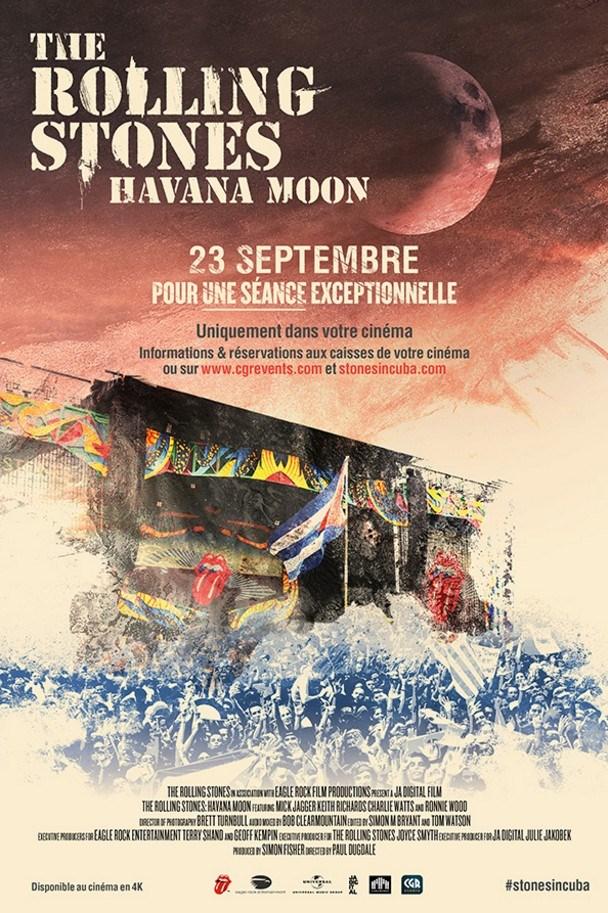Rolling Stones Havana Moon à Cuba
