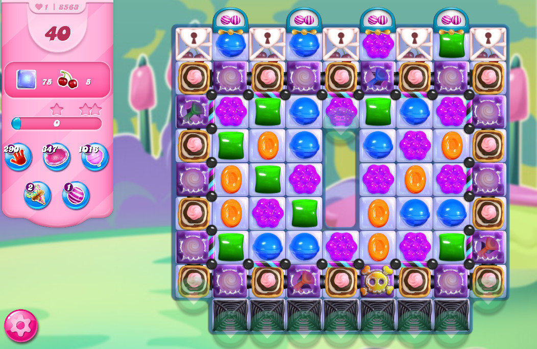 Candy Crush Saga level 8563