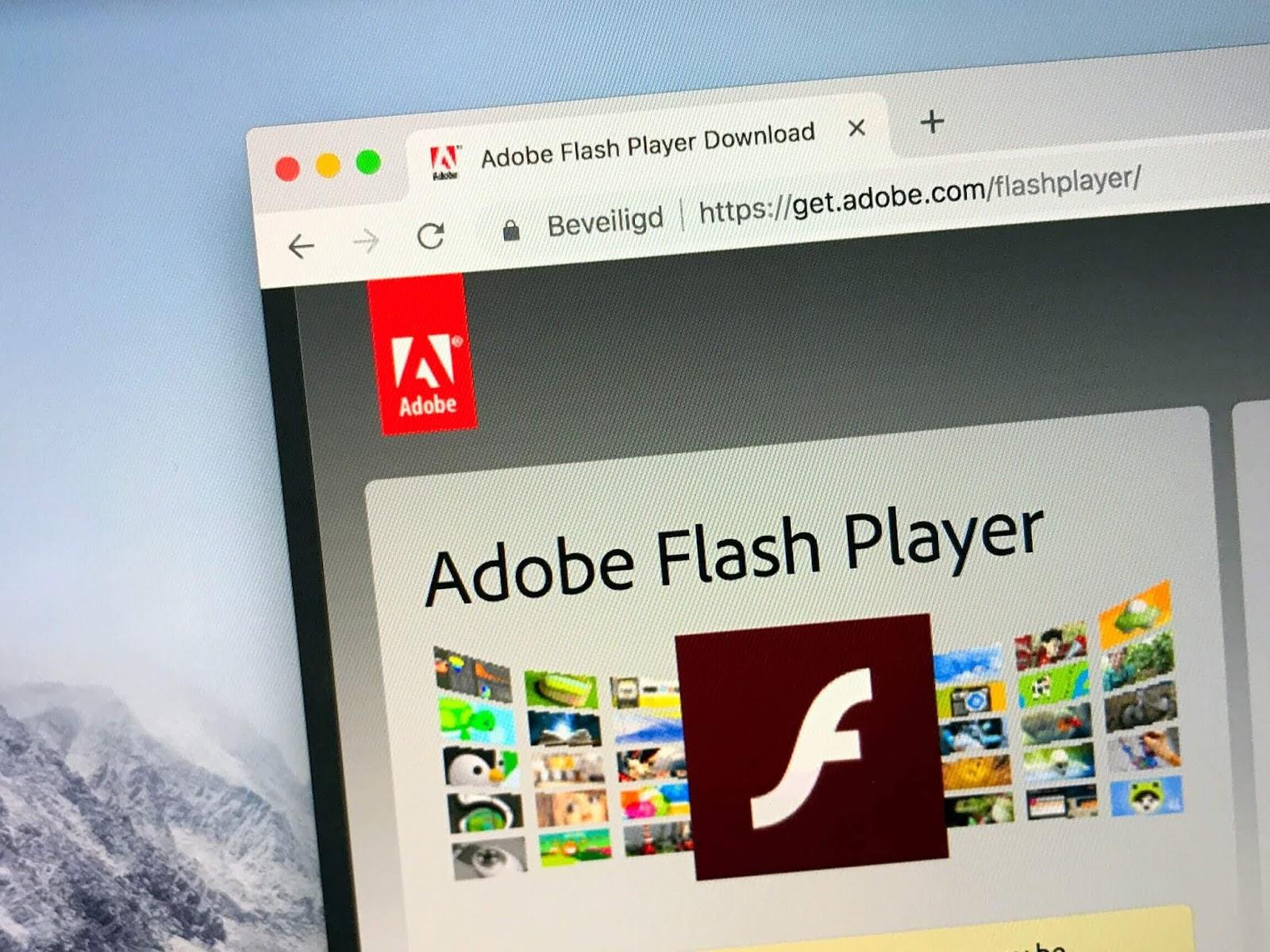 Adobe ti chiederà di disinstallare Flash Player entro la fine dell'anno