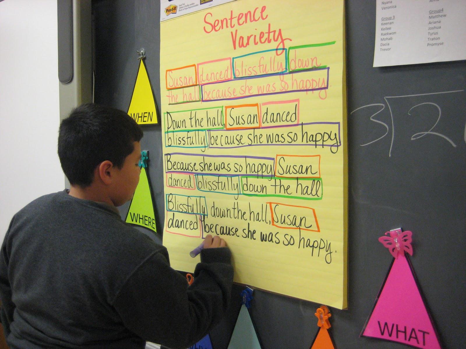 5th Grade Rocks 5th Grade Rules Sentence Variety 5ws Amp H