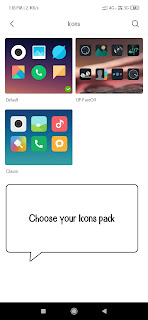 change Apps Icons in miui themes