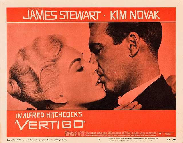 Vertigo – Ölüm Korkusu - 1958