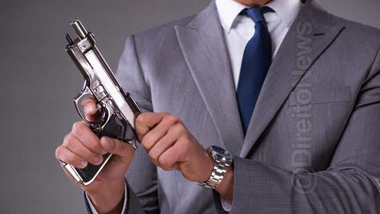 negado porte arma advogado perigo direito