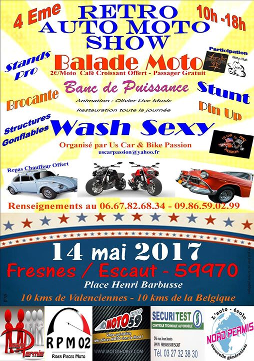 Motorbike Event France Mai 2017