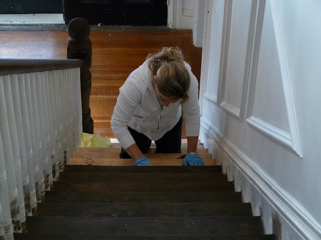 Hazardous Design Refinishing The Stairs Part 2 Or How I
