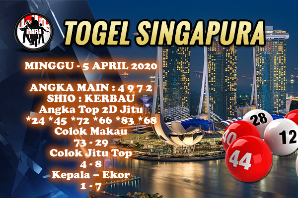 Prediksi SGP Minggu 05 April 2020 - Prediksi Mafia