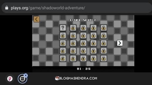 Permainan Shadoworld Adventure di Situs Game Online Plays.org