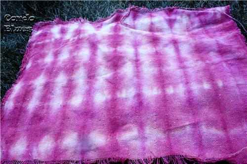 folding tie dye
