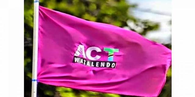 CHAMA CHA ACT-WAZALENDO CHALALAMIKA WAGOMBEA WAKE KUENGULIWA BILA SABABU...KAMATI KUU YA CHAMA HICHO KUKUTANA LEO