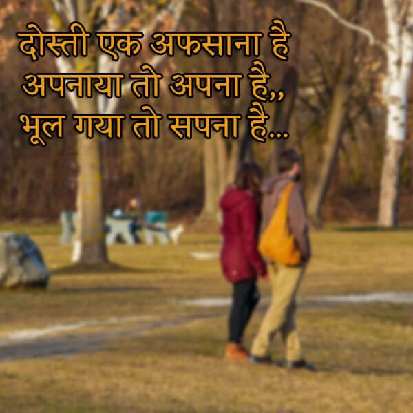 Best Friendship Quotes In Hindi