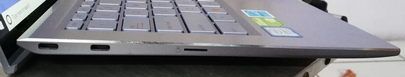 sisi kiri ASUS ZenBook S UX392F