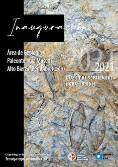 Nueva área de geología y paleontología