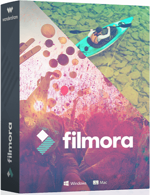 Wondershare Filmora 8.4.0.1 poster box cover