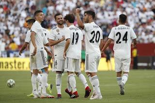 نتيجة مباراة ريال مدريد واتلتيكو مدريد الأربعاء 15-8-2018 كـأس السوبر الأسباني 2018