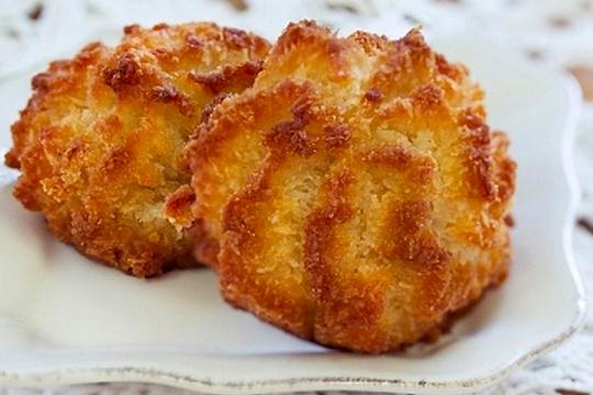 Galletas de coco rallado