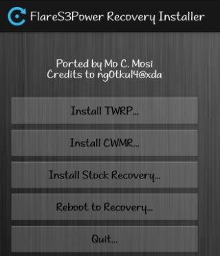 How to Create Custom Recovery to Cherry Mobile Flare S3
