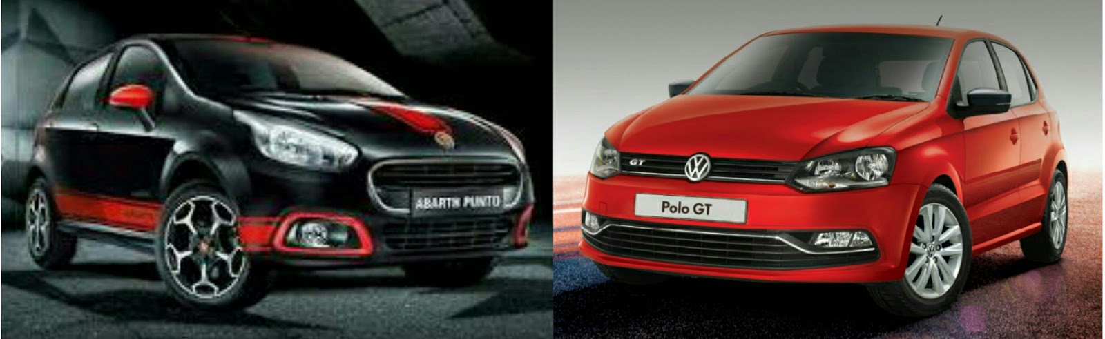volkswagen polo gt tsi vs abarth punto comparison review