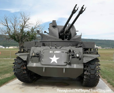 M42 40mm Self-Propelled Anti-Aircraft Gun at Indiantown Gap Pennsylvania