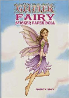 Image: Glitter Fairy Sticker Paper Doll