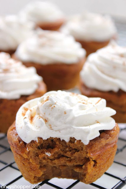 Pumpkin Pie Cupcake Recipe