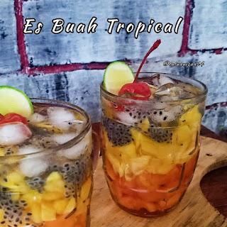 Resep es buah tropical