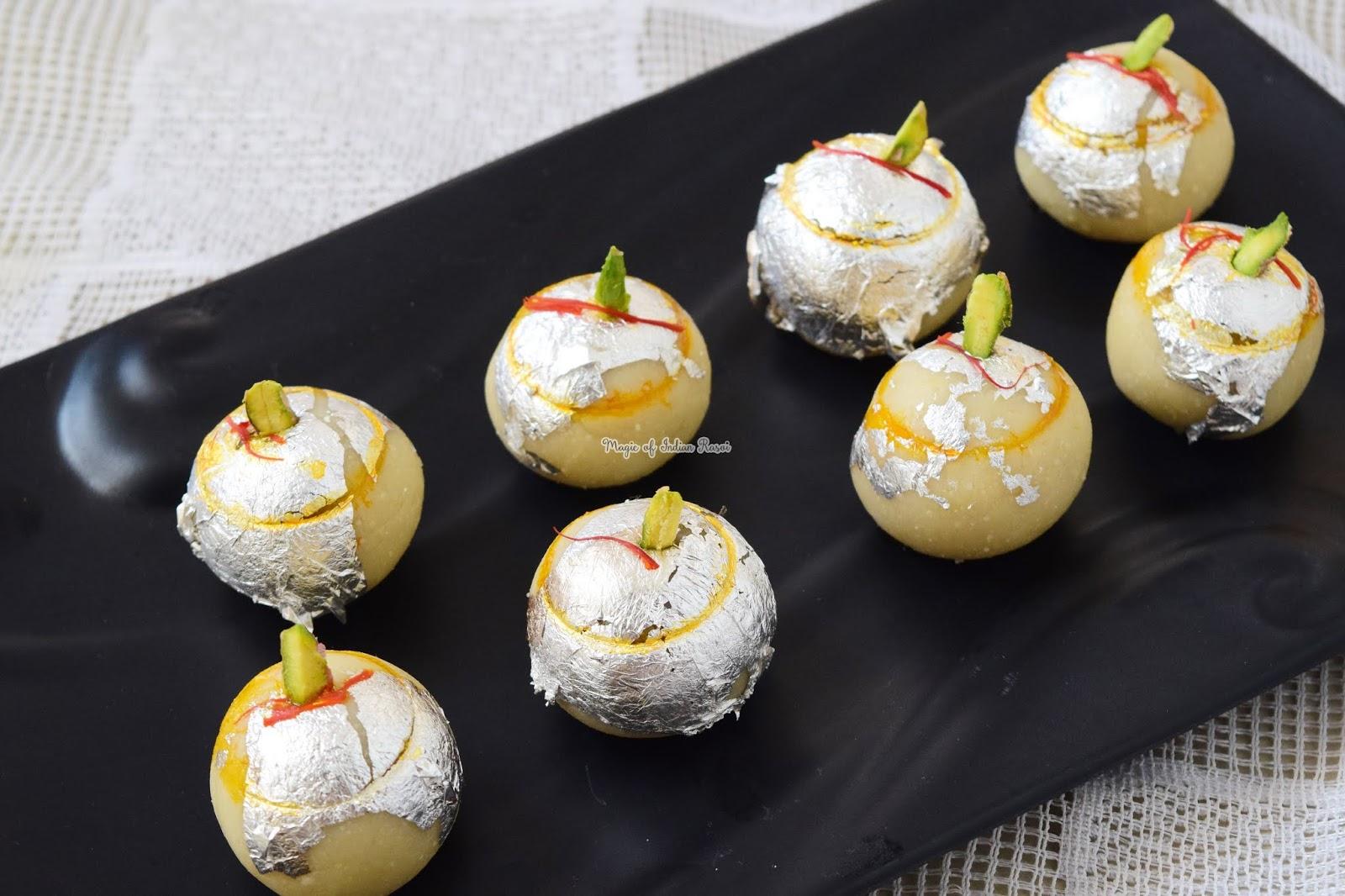 Kaju Paan Bhog Mithai Recipe - हलवाई जैसे काजू पान भोग मिठाई एक बार बनायेगे तो बाजार की मिठाई भूल जायेगे  - Priya R - Magic of Indian Rasoi