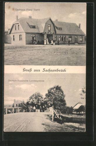 Sachsenbrück - Saksoński Most - Pieczenia