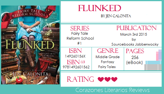 #BookReview: Flunked & Charmed by Jen Calonita