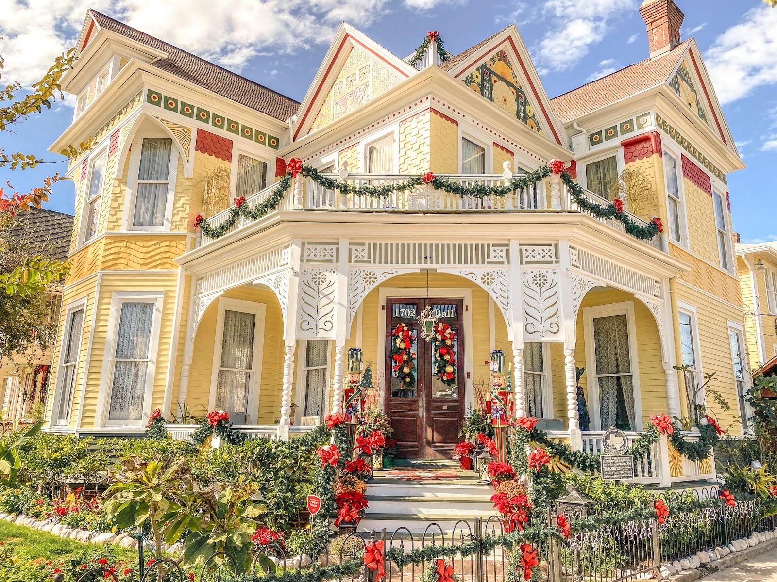 Victorian House on Ball St. in Galveston