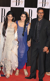Kajol and Ajay at Birthday Party of Amitabh Bachchan
