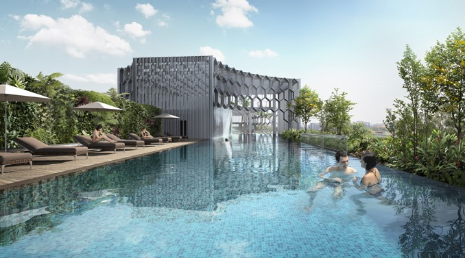 DUO Residences Swimming Pool